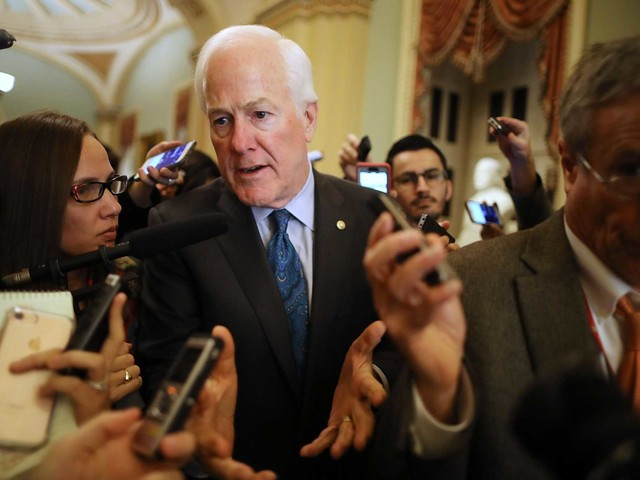 Cornyn: 'I don't see the benefits of a shutdown strategy.'