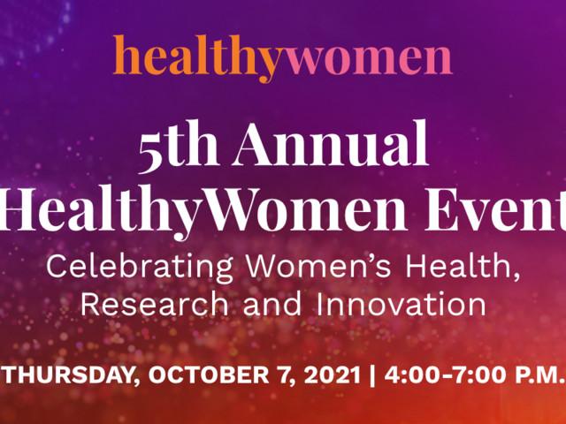 2021 HealthyWomen Annual Event
