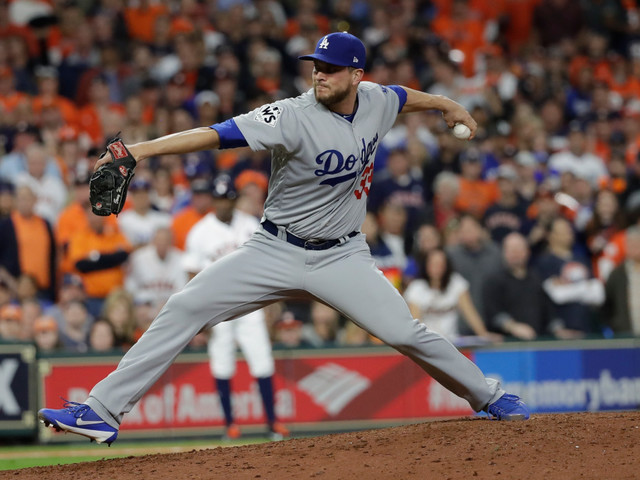 Dodgers win battle of the bullpens in World Series Game 4
