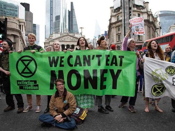 Extinction Rebellion: Climate Change Protests Aim To Crash Global Economy To Usher In MMT