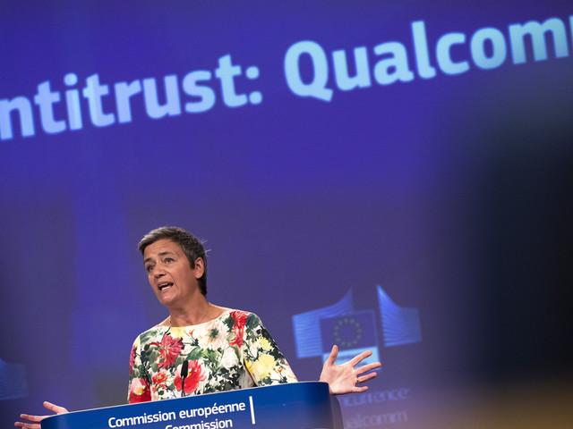 EU fines chipmaker Qualcomm for 'predatory pricing'