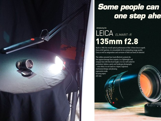 Photographer Recreates Vintage Lens Ads with His Own Glass