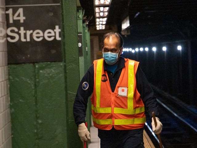 Subway and bus drivers in New York City say the government did too little, too late, to protect them from the coronavirus as thousands of their colleagues got sick and 98 died.