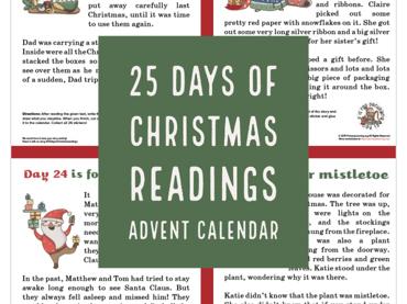 Free Christmas Readings Advent Calendar