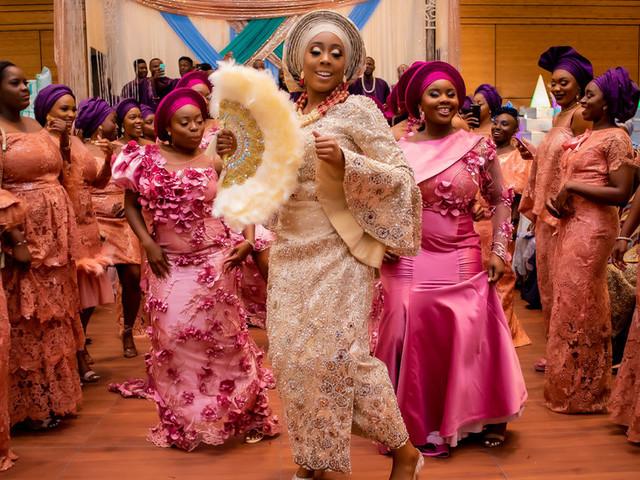 The Fabric of Nigerian Weddings