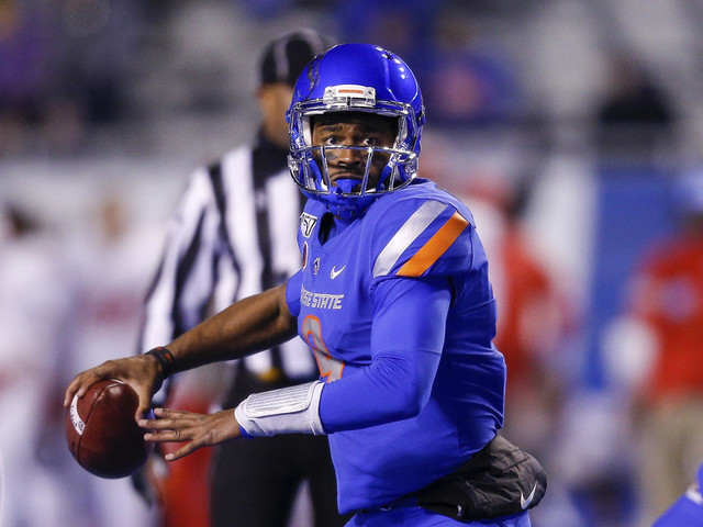 No. 20 Boise State dealing with injuries to top 2 QBs