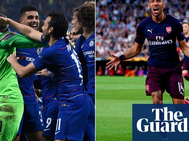 Chelsea and Arsenal into Europa League final as English teams seal full house
