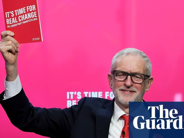 Jeremy Corbyn launches most radical Labour manifesto in decades