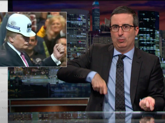 John Oliver and a Talking Squirrel Want Donald Trump to Stop Lying About Coal Jobs