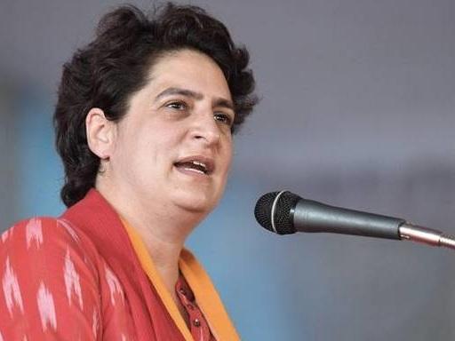 Priyanka Gandhi slams government over Central Vista project in New Delhi