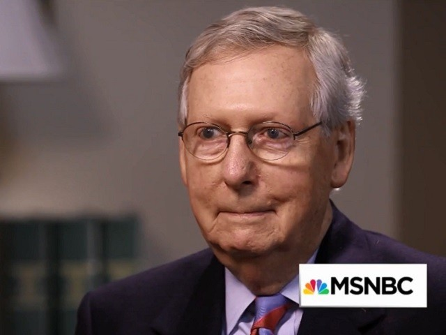 McConnell: Romney Is 'A Great American,' 'I'm Glad He's a Member of Our Party'