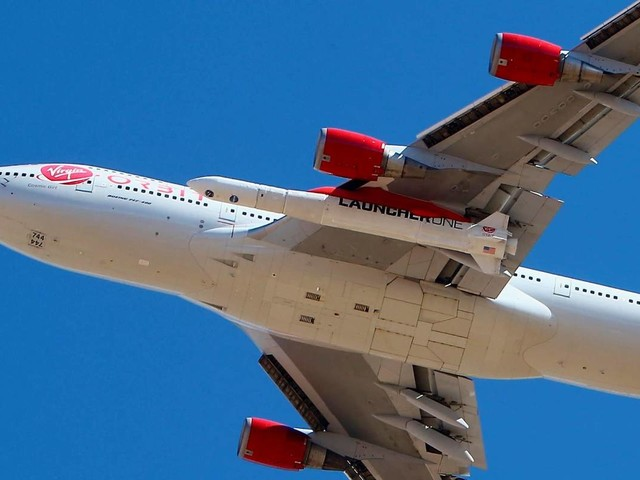 Virgin Orbit, flying from California, reaches space on 2nd try