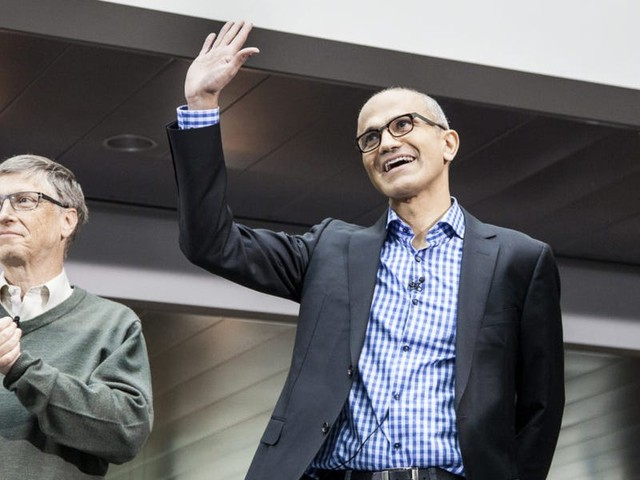 Microsoft's cloud business has helped annual sales explode past $120 billion — and CEO Satya Nadella credits CFO Amy Hood for her key role in this strategic transformation
