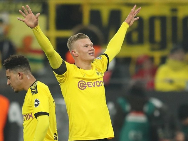 Five goals in 59 minutes for Dortmund... teen sensation Haaland is establishing himself as world football's biggest young star