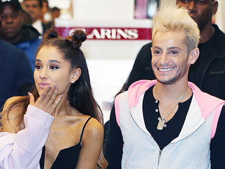 Ariana Grande's Brother Frankie Says Her Grammy Performance Will 'Knock Everyone's Socks Off'
