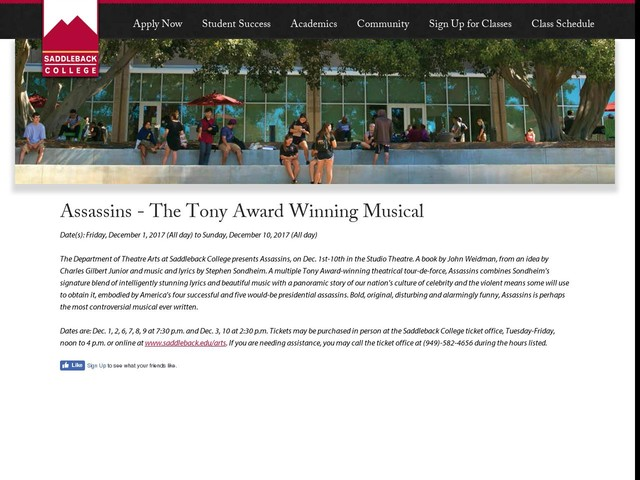 Assassins - The Tony Award Winning Musical