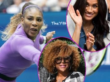 Meghan Markle, Taraji P. Henson, Chris Bosh & More Watch Serena Williams' 24th Grand Slam Title Slip Away