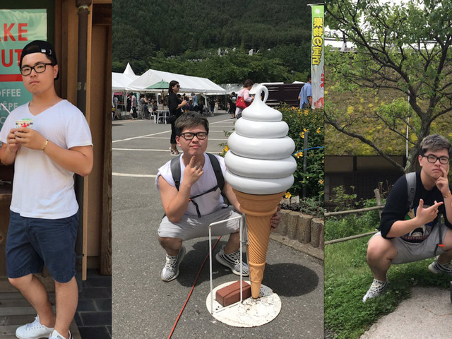 Guy Goes Viral Taking Pictures With Plastic Ice Cream Cones