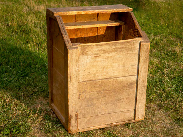 An Antique Woodbox Connects Me to My Farm's Past