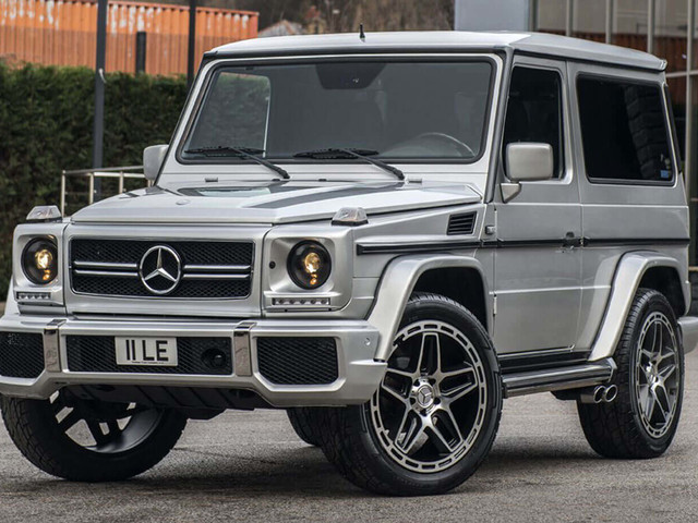 How About An As-Good-As-New 2002 Mercedes G-Class For $80k?