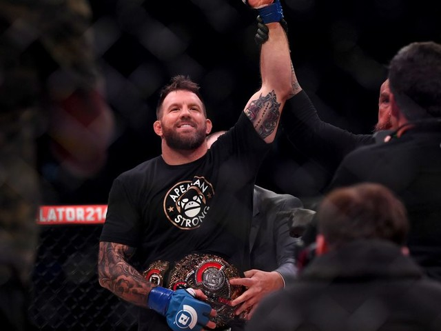 Bader set to defend Bellator light heavyweight title against Nemkov