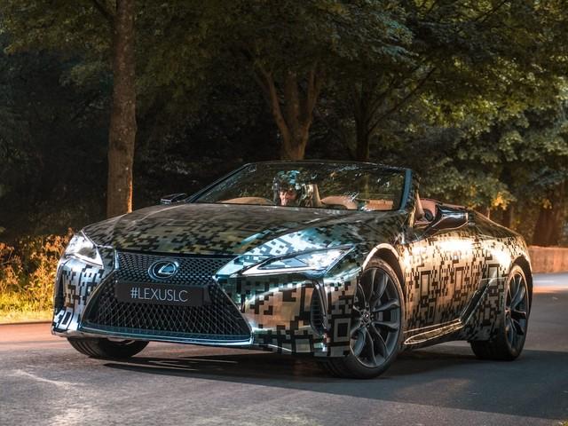Lexus LC Convertible Prototype Rolls Into the Festival of Speed