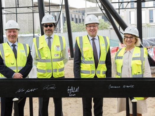 News: Finland tops out Expo 2020 pavilion in Dubai