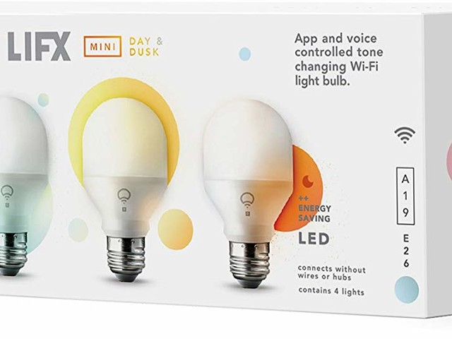 (Update: Back on sale) Brighten up your home with a 4-pack of LIFX Day and Dusk smart bulbs for only $60 ($50 off)