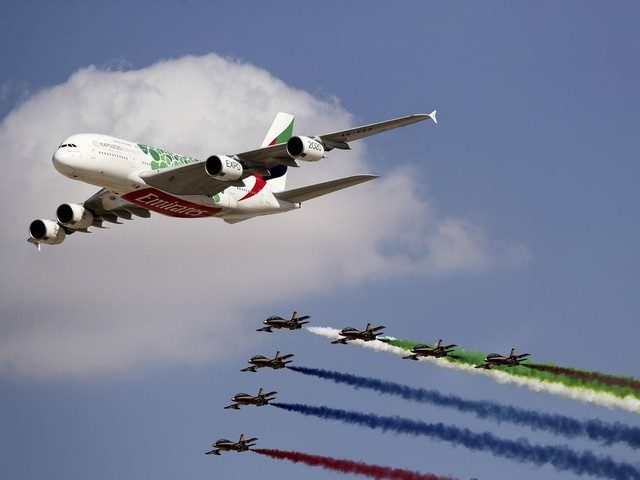 Emirates announces order for 50 Airbus A350s worth $16B