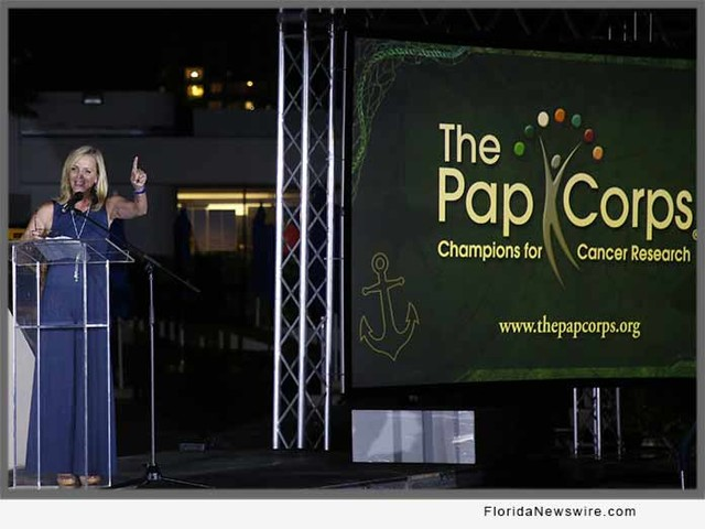 The Pap Corps, Champions for Cancer Research Makes Big Splash with Inaugural Event