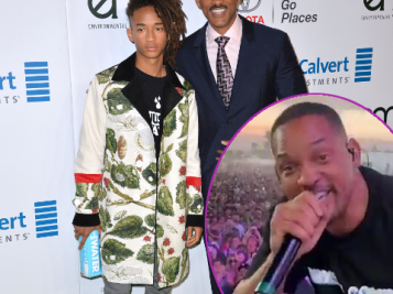 Father-Son Duo! Jaden Smith Surprises Coachella With Will Smith Cameo & Everyone Loses It