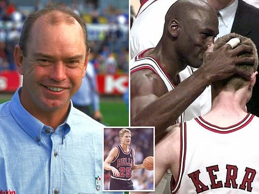 Michael Jordan swore visiting AFL coach to secrecy after the Aussie witnessed fight with Steve Kerr
