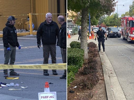 Three people are killed at a Washington sports bar after a fight spilled into the parking lot