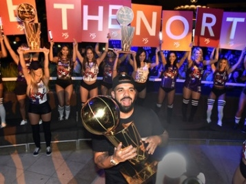 Drake Goes Hard With Giant Larry O'Brien Trophy, Cardi B, Meg Thee Stallion At OVO Fest, Claps Back At Fan Over Ticket Prices