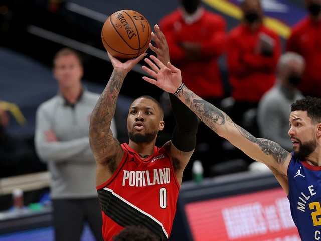 Damian Lillard won even if the Trail Blazers lost Game 5 to the Nuggets