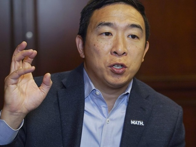 Andrew Yang hits polling benchmark to qualify for December debate