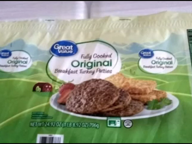 RECALL: Frozen sausage patties sold at Walmart may have Salmonella