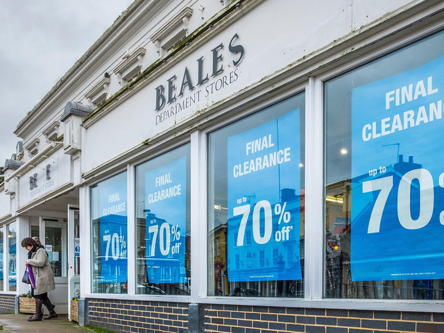 Beales enters administration: what you need to know