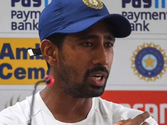 Pink Ball Not A Factor For In-Form Indian Pacers: Wriddhiman Saha