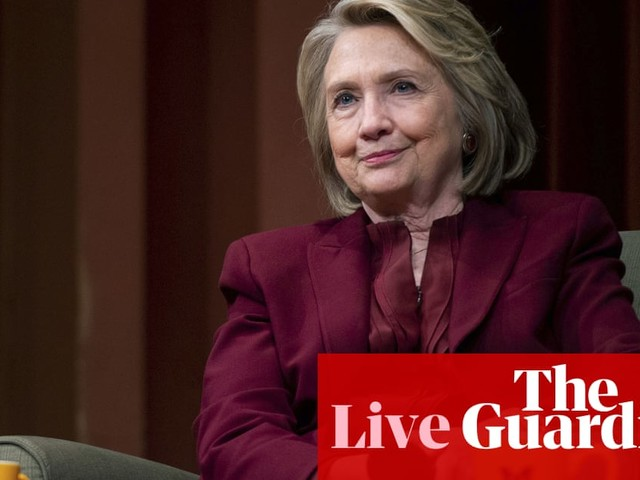 Hillary Clinton hints Tulsi Gabbard is being groomed by Russia as third-party candidate – live