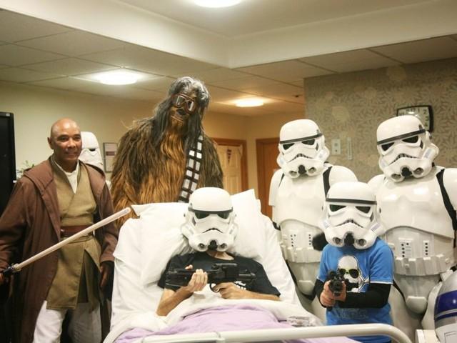 Dying Star Wars Fan got an Advanced Screening of Star Wars: The Rise of Skywalker