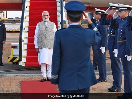 PM Modi Arrives In Brazil For BRICS Summit, To Hold Bilateral Talks