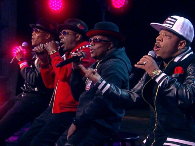 WATCH: Former members of 'New Edition' perform a medley of their hits