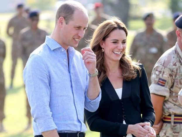 Prince William and Kate Middleton Made a Surprise Visit to an Orphanage After Plane Incident