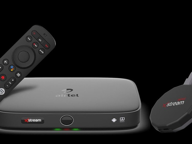 Android TV powers Airtel's new Xstream box and streaming stick in India