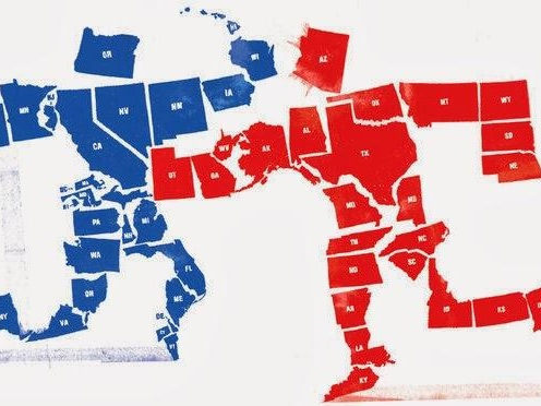 U.S. Presidential Partisan Divide Hits Record High