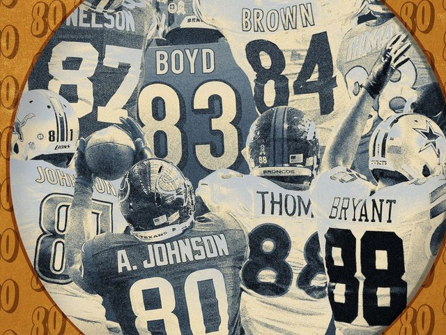 The Era of NFL Wide Receivers Wearing Jersey Numbers in the 80s Is Officially Dead