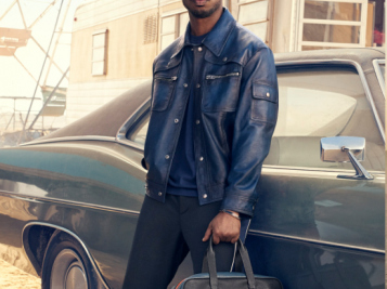 Michael B. Jordan Is Hella Fine In Coach's Menswear Campaign - And He's The FIRST To Ever Do It