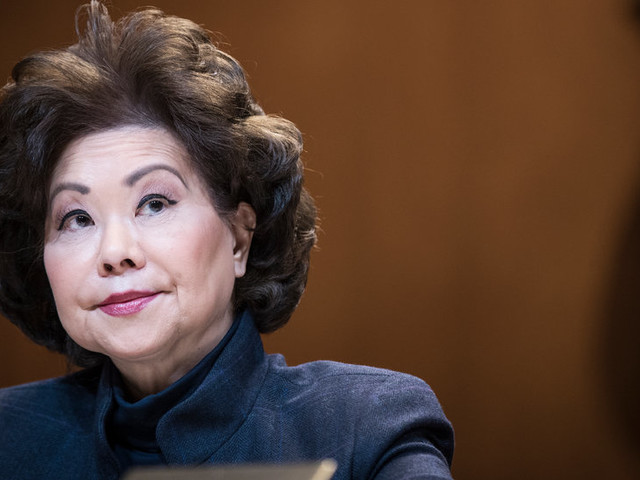 Elaine Chao Investigated by House Panel for Possible Conflicts