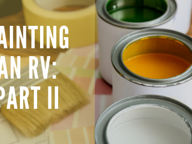 Painting an RV: Part II